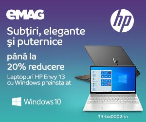 Campanie de reduceri Laptopuri HP Envy 13