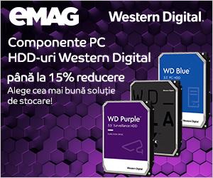 Campanie de reduceri Hard Disk-uri Western Digital