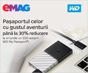 Campanie de reduceri SSD-uri externe WD