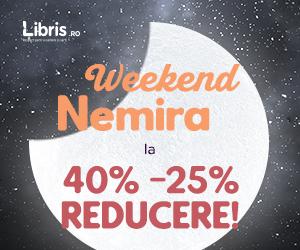 Campanie de reduceri Weekend Nemira cu -40% -25% la TOATE titlurile!