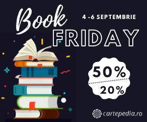 Campanie de reduceri Book Friday Cartepedia
