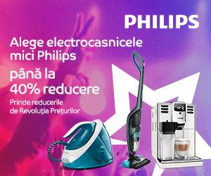 Campanie de reduceri Campanie Philips - Revolutia Preturilor