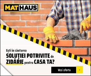 Campanie de reduceri Zidarie - Solutia potrivita pentru casa ta la MatHaus