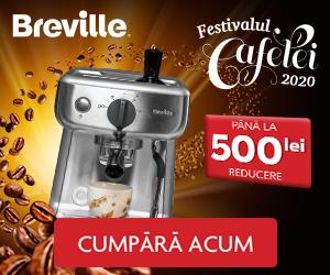 Campanie de reduceri A inceput Festivalul Cafelei!