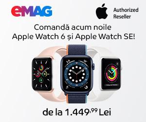 Campanie de reduceri Campanie Apple Watch S6 & Apple Watch SE