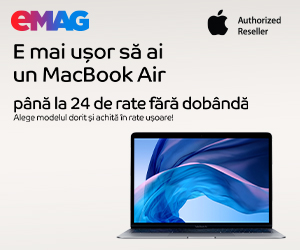 Campanie de reduceri Laptopuri Apple MacBook Air