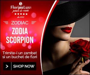 Campanie de reduceri Zodia Scorpion