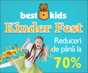 Campanie de reduceri Kinder Fest - Festivalul Reducerilor de la Mic la Mare
