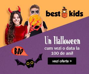 Campanie de reduceri Un Halloween cum vezi o data la 100 de ani!