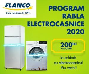 Campanie de reduceri Programul RABLA pentru Electrocasnice până pe 14 Octombrie 2020!