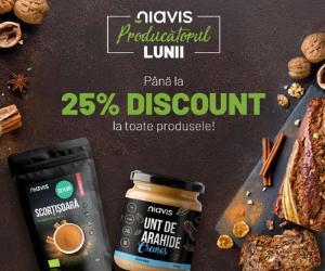 Campanie de reduceri Niavis Producatorul Lunii octombrie