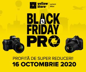 Campanie de reduceri Pregateste-te pentru Black Friday PRO!