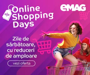 Campanie de reduceri Online Shopping Days