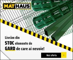 Campanie de reduceri Garduri si imprejmuiri - Comanda online