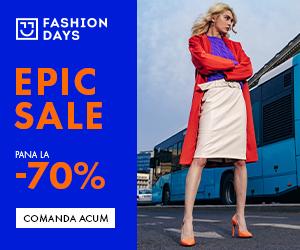 Campanie de reduceri Refresh Epic Sale - reduceri de pana la 70% la articolele pentru femei