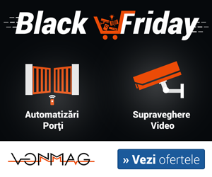 Campanie de reduceri Black Friday 2020 pe VonMag.ro