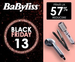 Campanie de reduceri Babyliss Black Friday