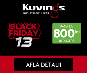 Campanie de reduceri Kuvings Black Friday!