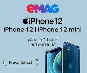 Campanie de reduceri Campanie precomanda iPhone 12 & 12 Mini