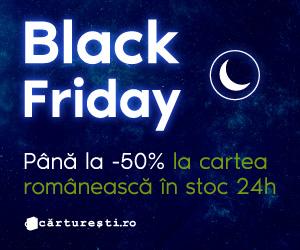 Campanie de reduceri Black Friday 2020: Carte românească
